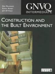Cover of: GNVQ Construction and the Built Environment | Des Millward