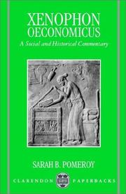 Cover of: Oeconomicus by Xenophon