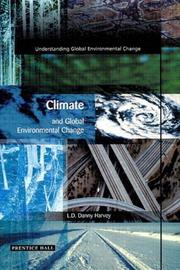 Cover of: Climate and Global Environmental Change by Danny Harvey