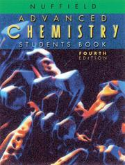 Cover of: Nuffield Advanced Level Chemistry (NNS) by Michael Vokins