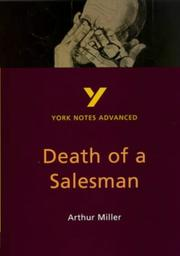 "Cover of: York Notes on Arthur Miller's ""Death of a Salesman"" by Adrian Page"
