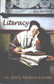 Cover of: Literacy in Early Modern Europe by R.A. Houston