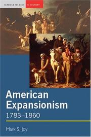 Cover of: American Expanisonism by Mark S. Joy