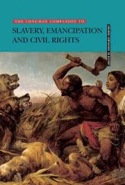 Cover of: Longman Companion to Slavery, Emancipation and Civil Rights | Harry Harmer