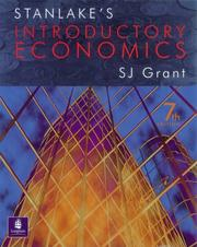 Cover of: Stanlake's Introductory Economics by G.F. Stanlake