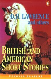 Cover of: British and American Short Stories | G Thornley