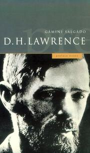 Cover of: A Preface to D. H. Lawrence | Gamini Salgado
