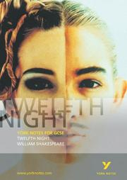 "Cover of: York Notes on William Shakespeare's ""Twelfth Night"" by David Pinnington"