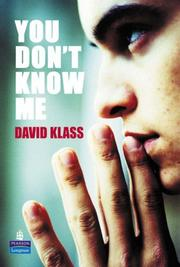 Cover of: You Don't Know Me? by D Klass