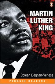 Cover of: Martin Luther King, Level 3 by Coleen Degnan-Veness