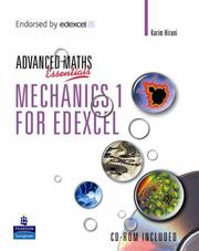 Cover of: Mechanics 1 for Edexcel | J Crawshaw
