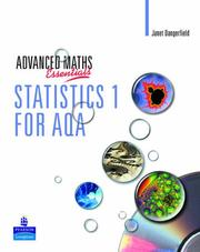 Cover of: Statistics 1 for AQA by J Crawshaw