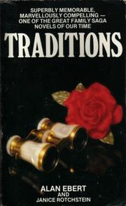 Cover of: TRADITIONS | ALAN AND JANICE ROTCHSTEIN. EBERT