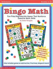 Cover of: Bingo Math (Grades 1-2) | Diane Peragine