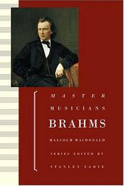 Cover of: Brahms | MacDonald, Malcolm