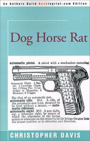 Cover of: Dog Horse Rat by Christopher Davis