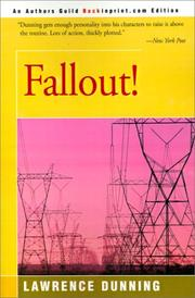 Cover of: Fallout | Lawrence Dunning