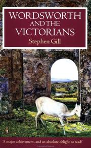 Cover of: Wordsworth and the Victorians (Oxford Authors) | Stephen Gill