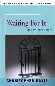 Cover of: Waiting for It by Christopher Davis
