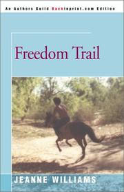 Cover of: Freedom Trail | Jeanne Williams