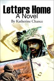Cover of: Letters Home | Katherine Chance
