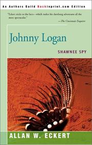 Cover of: Johnny Logan by Allan W. Eckert