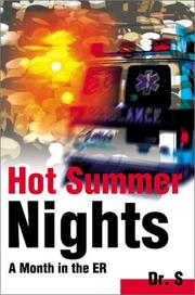 Cover of: Hot Summer Nights | Dr. S
