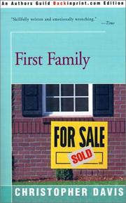 Cover of: First Family | Christopher Davis