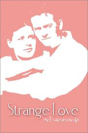 Cover of: Strange Love | Arthur Wiederhold