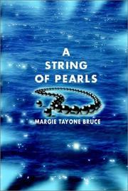 Cover of: A String of Pearls | Margie Tayone Bruce