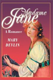 Cover of: Madame Jane | Mary Devlin