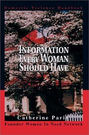 Cover of: Information Every Woman Should Have | Catherine Paris