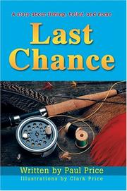 Cover of: Last Chance | Paul Price