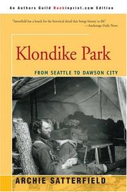 Cover of: Klondike Park | Archie Satterfield