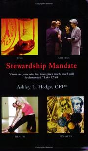 Cover of: Stewardship Mandate by Ashley L Hodge