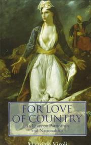 Cover of: For love of country | Maurizio Viroli
