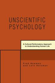 Cover of: Unscientific Psychology by Lois Holzman