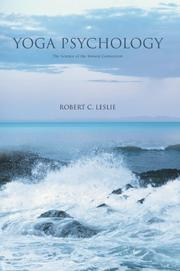 Cover of: Yoga Psychology by Robert C. Leslie