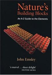 Cover of: Nature's Building Blocks | Emsley, John.