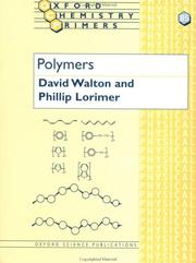 Cover of: Polymers | David J. Walton