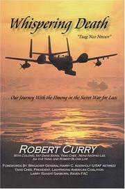 "Cover of: Whispering Death ""Tuag Nco Ntsoov"" by Robert Curry"