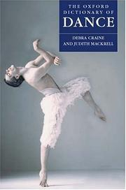 Cover of: The Oxford dictionary of dance | Debra Craine