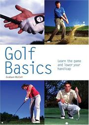 Cover of: Golf Basics by Graham McColl