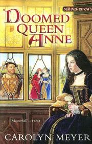 Cover of: Doomed Queen Anne (Young Royals Book) | Carolyn Meyer