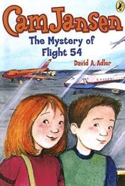 Cover of: The Mystery of Flight 54 | David A. Adler