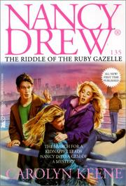 Cover of: Riddle of the Ruby Gazelle | Carolyn Keene