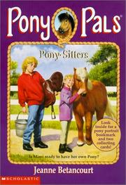 Pony Pals by Jeanne Betancourt (9) 1 2 3 4 5 6 7 8 9 Horse Chapter Books RL 3