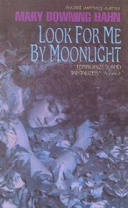 Cover of: Look for Me by Moonlight | Mary Downing Hahn
