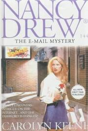 Cover of: E-Mail Mystery by Carolyn Keene