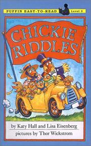 Cover of: Chickie Riddles | Katy Hall